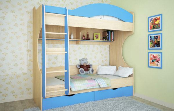 Кровать-чердак Облачко 4