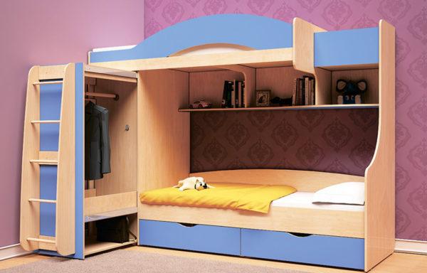 Кровать-чердак Облачко 5